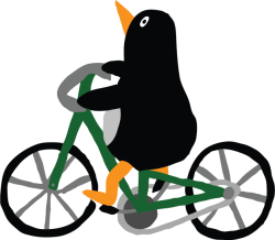 penguin-bike